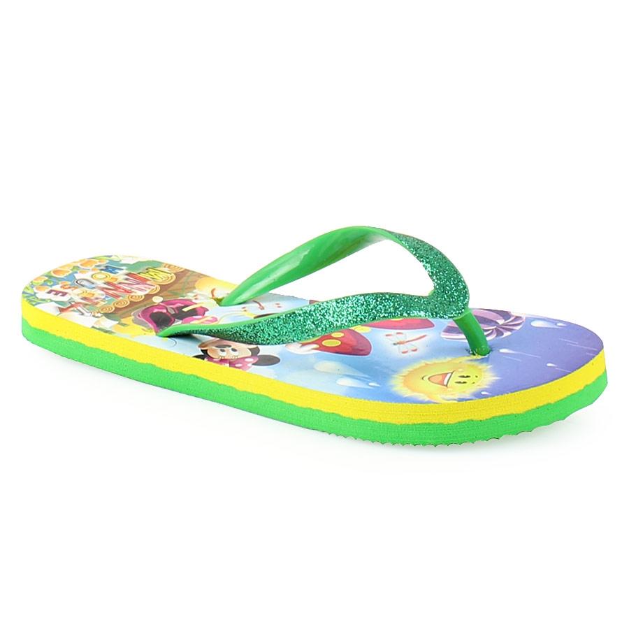 Εικόνα από Παιδικές σαγιονάρες με Minnie Mouse Πράσινο
