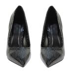 Εικόνα από Γυναικείες γόβες με glitter Μαύρο