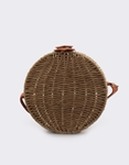 Εικόνα από Γυναικείες τσάντες ώμου ψάθινες Καφέ
