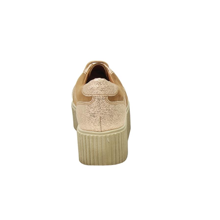 Εικόνα από Γυναικεία loafers με δερμάτινη επένδυση Ταμπά