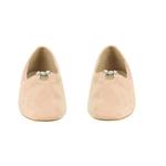 Εικόνα από Γυναικεία loafers με διακοσμητικά διαμάντια Ροζ