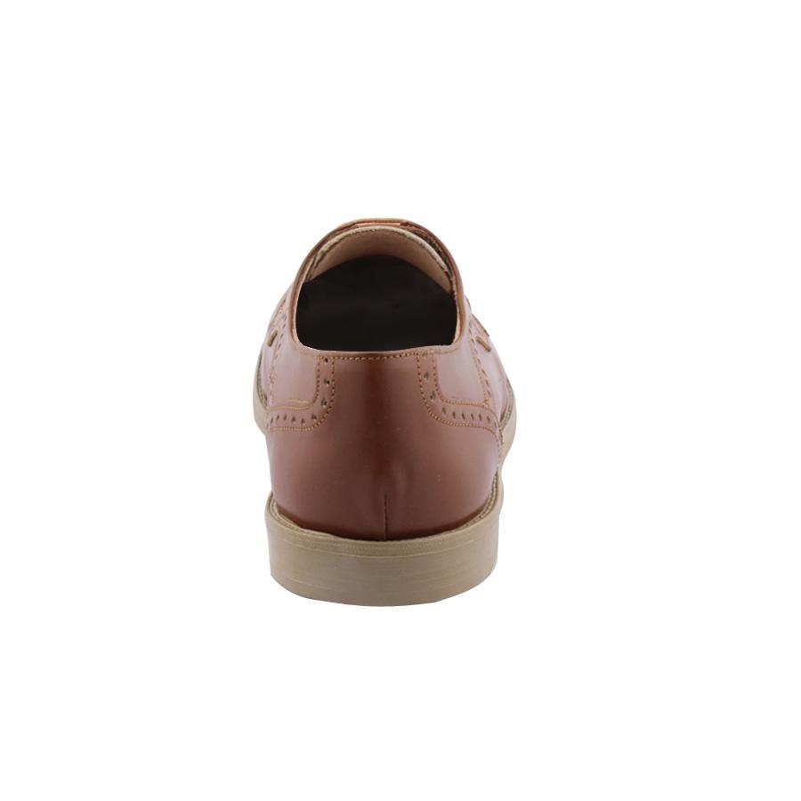 Εικόνα από Ανδρικά δερμάτινα loafers σε στυλ brogue Ταμπά
