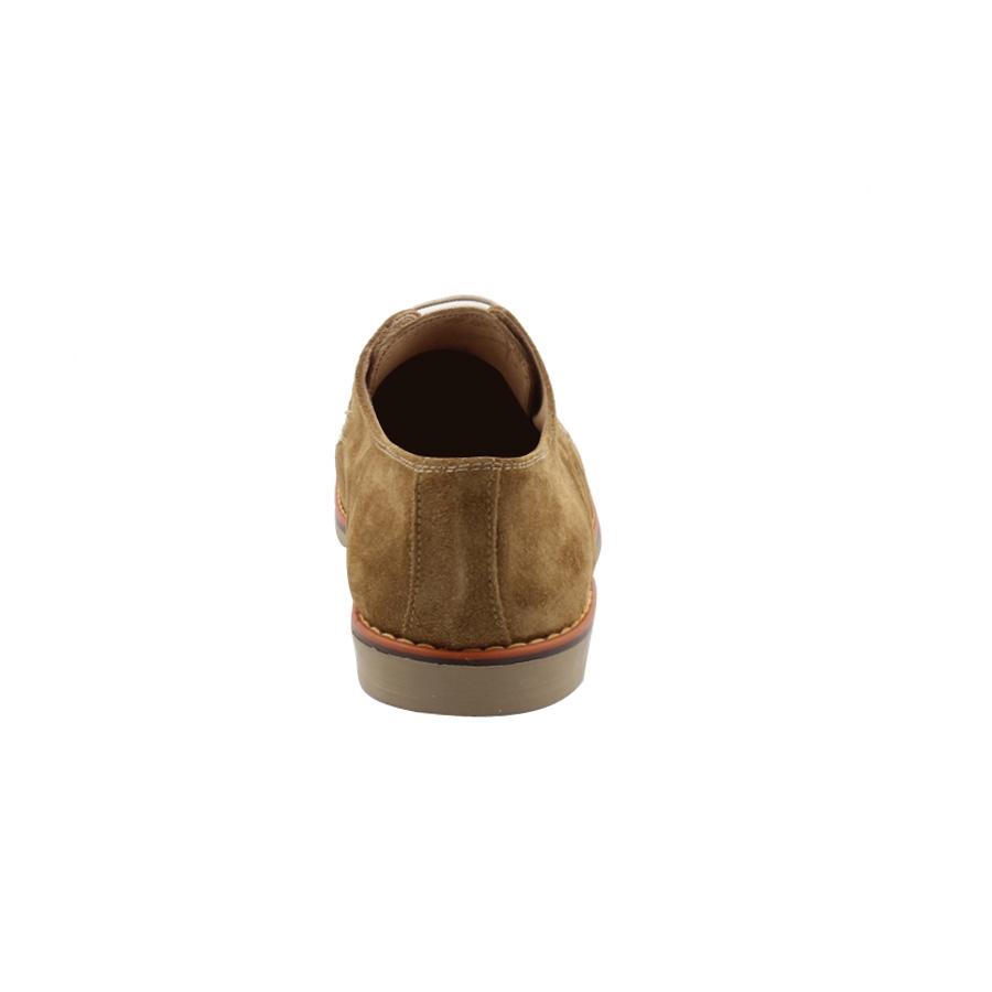Εικόνα από Ανδρικά δερμάτινα loafers καστόρινα Πούρο