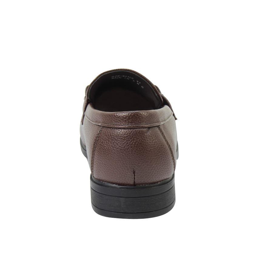 Εικόνα από Ανδρικά loafers με αγκράφα Καφέ