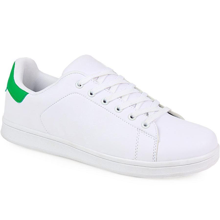 Εικόνα από Ανδρικά sneakers με κορδόνια Λευκό