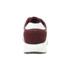 Εικόνα από Ανδρικά sneakers μονόχρωμα με λευκή σόλα Μπορντώ