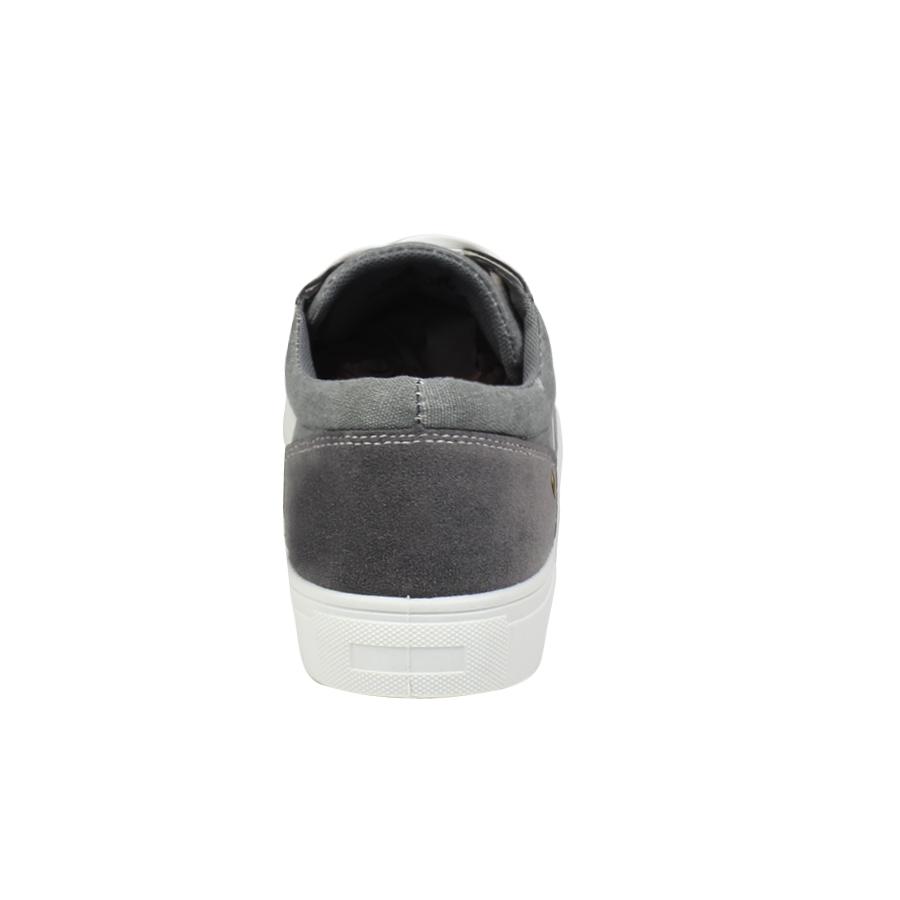 Εικόνα από Ανδρικά sneakers με λευκά κορδόνια Γκρι