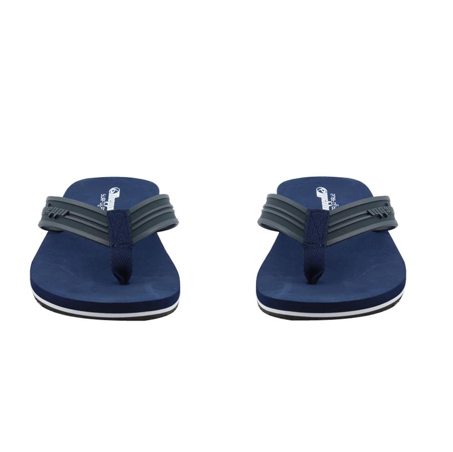 Εικόνα από Ανδρικές σαγιονάρες με τρίχρωμη σόλα Μπλε
