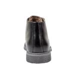 Εικόνα από Ανδρικά μποτάκια με ελαστική σόλα Μαύρο