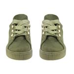 Εικόνα από Παιδικά sneakers με διακοσμητικές πέρλες Χακί