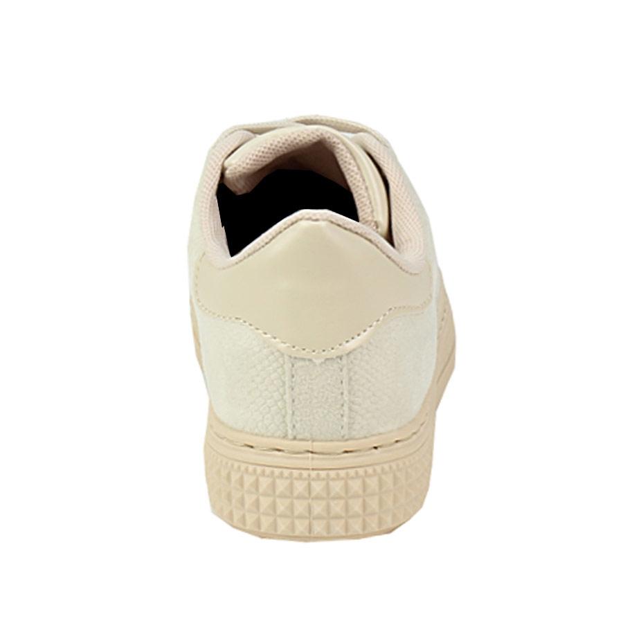 Εικόνα από Παιδικά sneakers μονόχρωμα Μπεζ