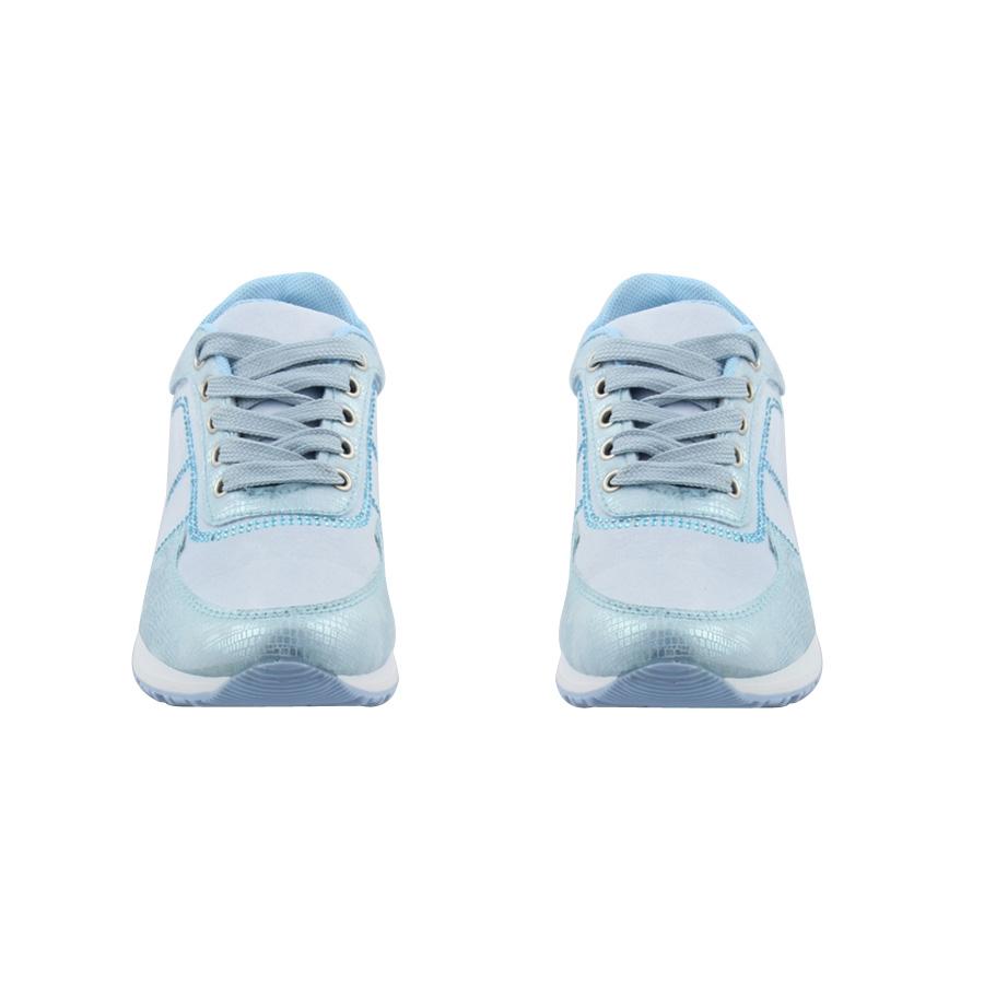 Εικόνα από Παιδικά sneakers με περιμετρικά strass Σιέλ