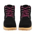 Εικόνα από Γυναικεία μποτάκια σε ορειβατικό στυλ Μαύρο/Ροζ
