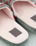 Εικόνα από Γυναικείες παντόφλες με καρδούλες Γκρι