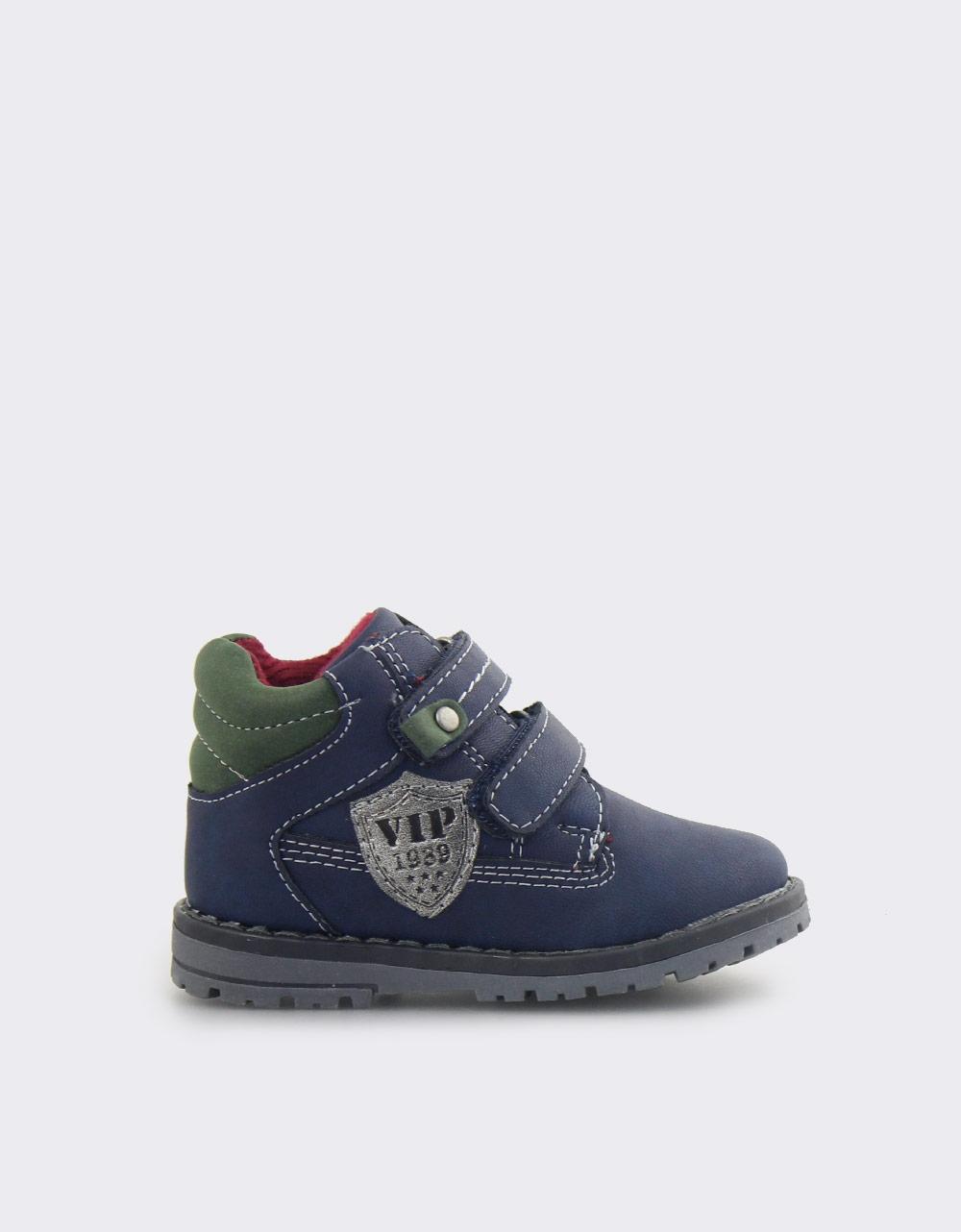 Εικόνα από Παιδικά μποτάκια με λογότυπο Μπλε