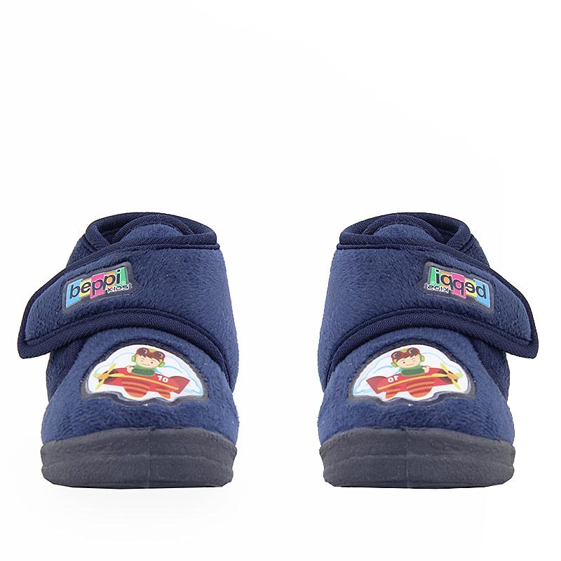 Εικόνα από Παιδικές παντόφλες με στάμπα Μπλε