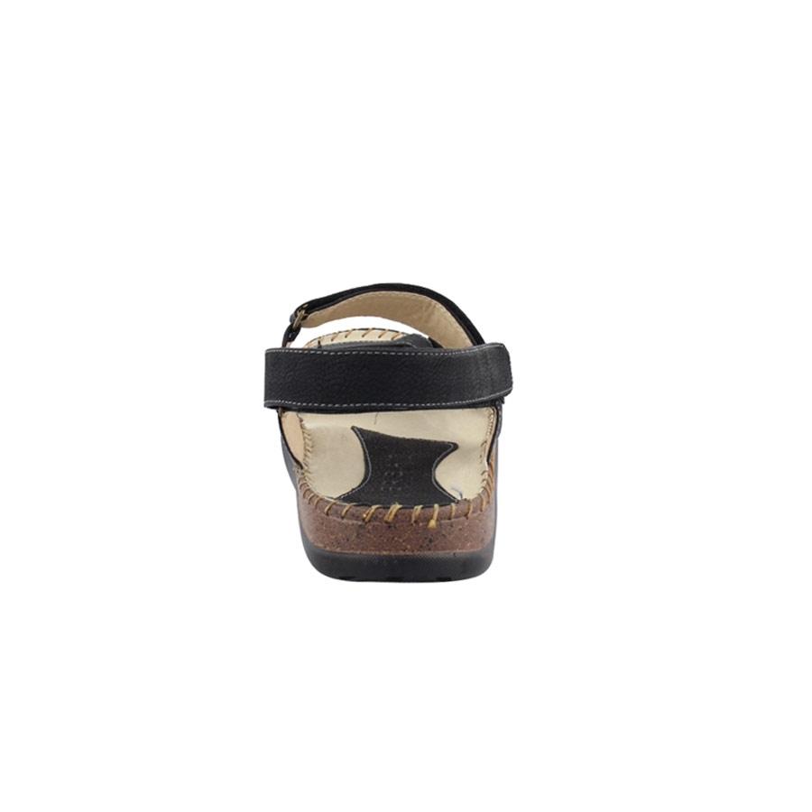 Εικόνα από Ανδρικά πέδιλα με κάθετο λουρί Μαύρο
