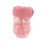 Εικόνα από Παιδικές παντόφλες με κουμπάκια Ροζ
