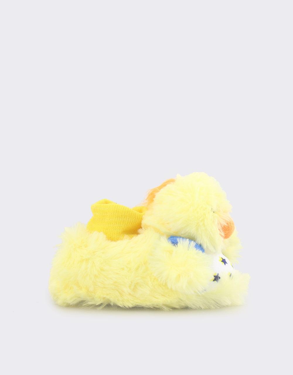 Εικόνα από Παιδικές παντόφλες πάπια Κίτρινο