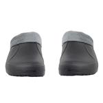 Εικόνα από Ανδρικές παντόφλες με εσωτερικό γουνάκι Μαύρο