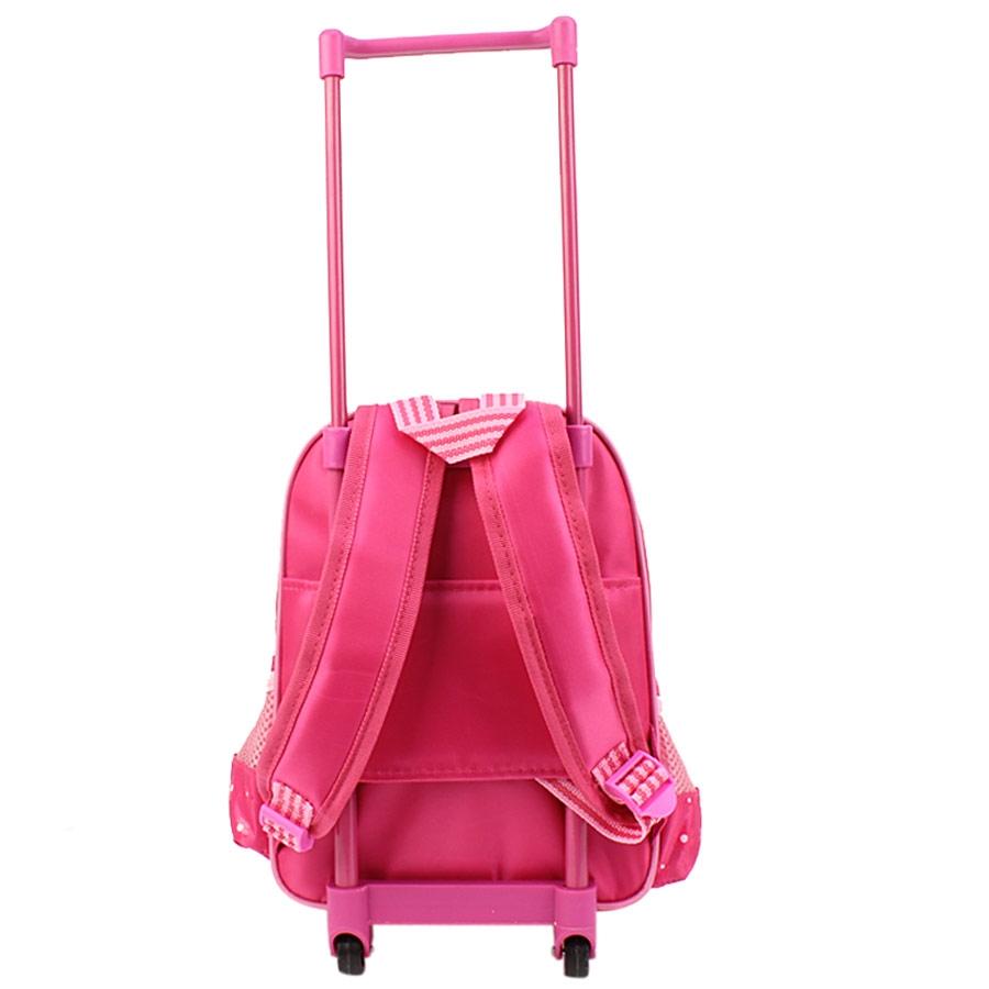 Εικόνα από Παιδικές σχολικές τσάντες με trolley Ροζ