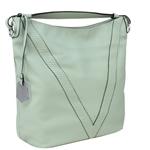 Εικόνα από Γυναικείες τσάντες ώμου με κροκό λεπτομέρεια Πράσινο