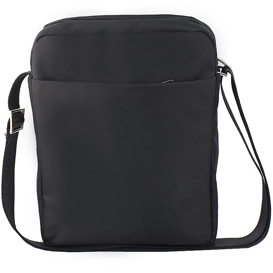 Εικόνα από Ανδρικές τσάντες ώμου με μεταλλικό σχέδιο Μαύρο