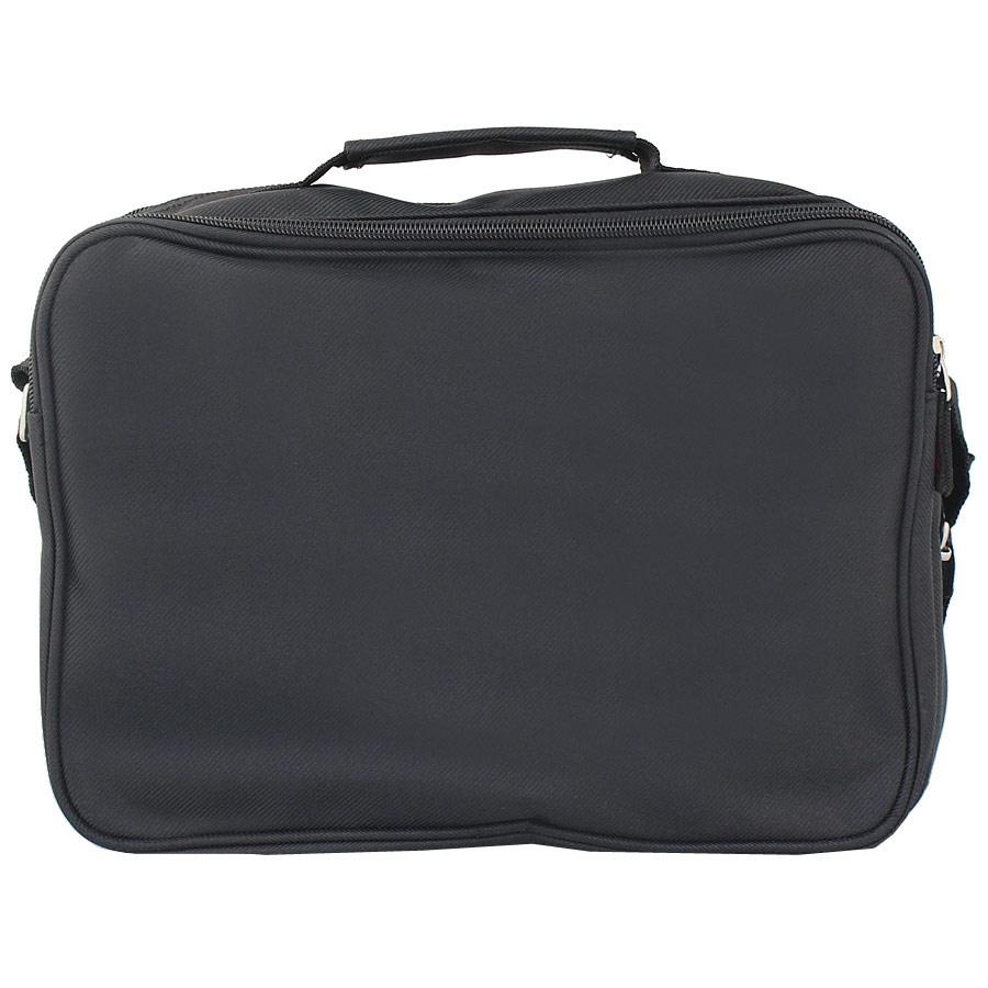 Εικόνα από Ανδρικές τσάντες ώμου με θήκη στο καπάκι Μαύρο