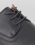 Εικόνα από Ανδρικά loafers με ανάγλυφη λεπτομέρεια Μαύρο