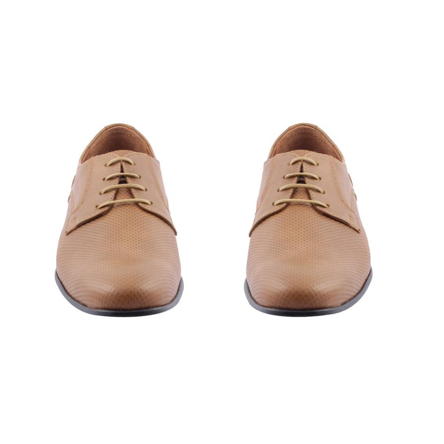 Εικόνα από Ανδρικά δερμάτινα loafers με ανάγλυφο σχέδιο Ταμπά