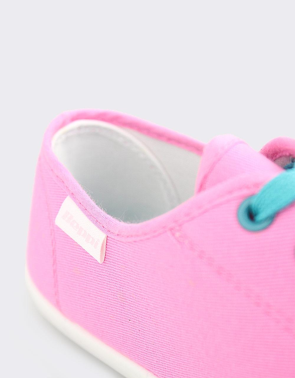 Εικόνα από Γυναικεία sneakers μονόχρωμα Φούξια