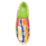 Εικόνα από Γυναικεία sneakers slip-on με πολύχρωμο σχέδιο Multi