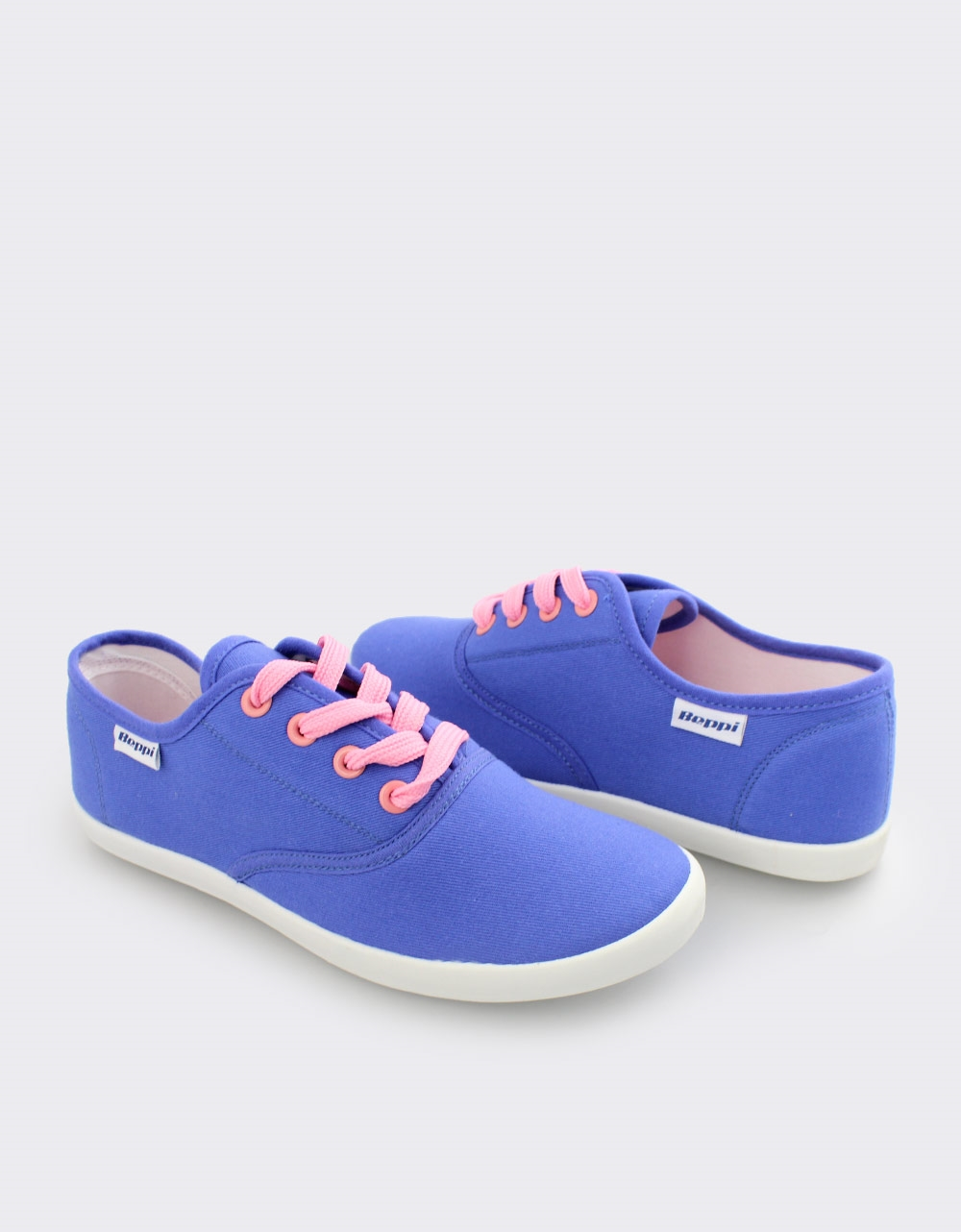 Εικόνα από Γυναικεία sneakers μονόχρωμα Μπλε