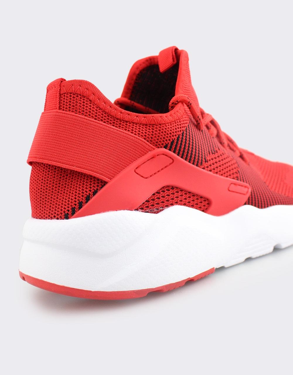 Εικόνα από Ανδρικά sneakers με λάστιχο στο πίσω μέρος Κόκκινο