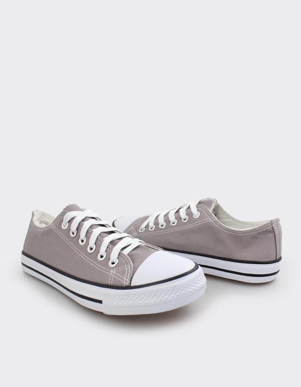 Εικόνα από Ανδρικά sneakers με κορδόνια Γκρι
