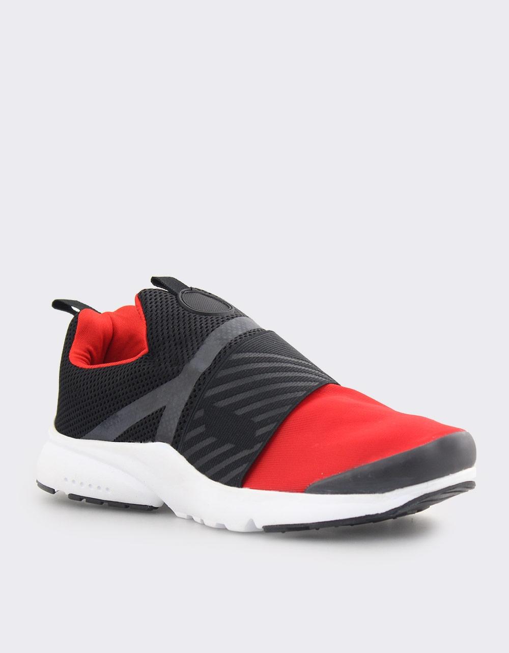 Εικόνα από Ανδρικά sneakers με λάστιχο Κόκκινο