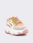 Εικόνα από Γυναικεία sneakers με snake skin μοτίβο Ροζ
