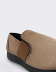 Εικόνα από Γυναικεία loafers μονόχρωμα με λάστιχο Πούρο