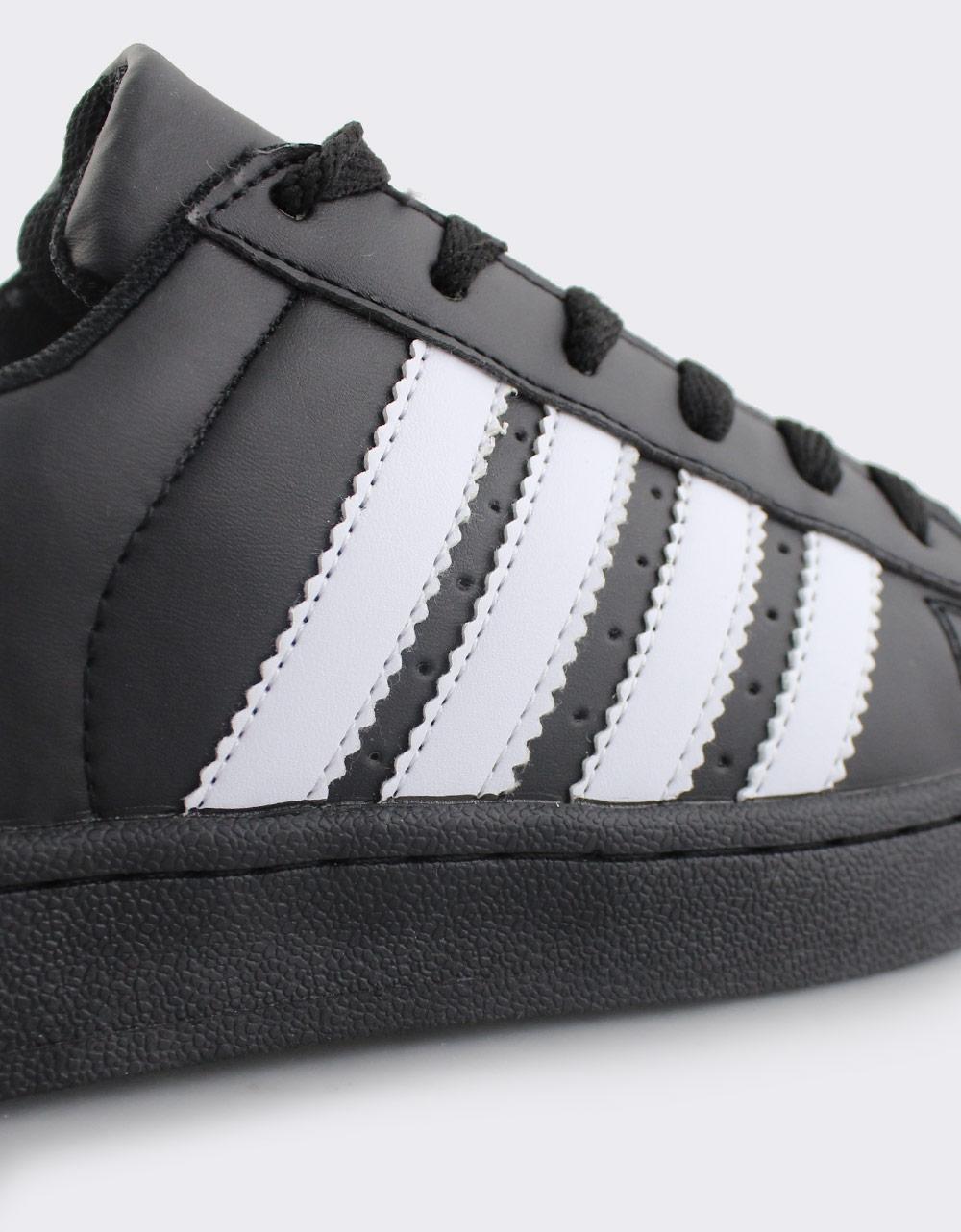 Εικόνα από Γυναικεία sneakers με ρίγες Μαύρο/Λευκό