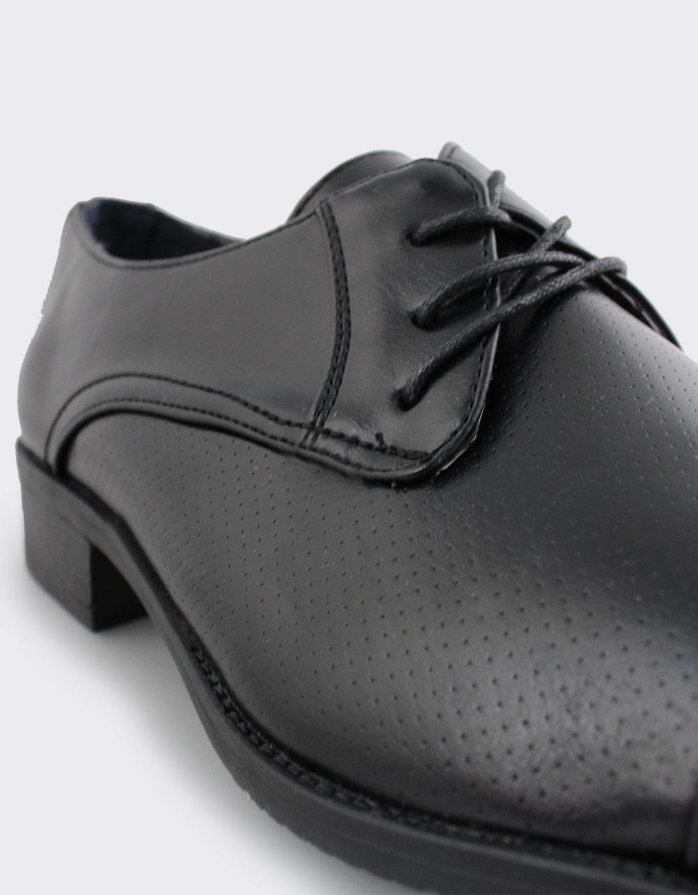 Εικόνα από Ανδρικά loafers με σχέδιο Μαύρο