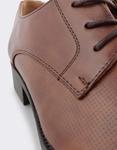 Εικόνα από Ανδρικά loafers με ανάγλυφο μοτίβο Καφέ