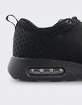 Εικόνα από Ανδρικά Sneakers με πλεκτό σχέδιο και αερόσολα Μαύρο
