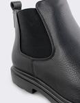 Εικόνα από Ανδρικά μποτάκια με λάστιχο Μαύρο