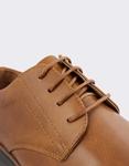 Εικόνα από Ανδρικά loafers με ταμπά ρίγα στη σόλα Ταμπά