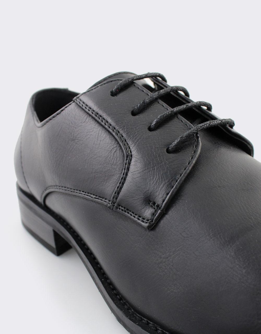 Εικόνα από Ανδρικά loafers με διακοσμητικές ραφές Μαύρο