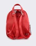 Εικόνα από Γυναικεία σακίδια πλάτης μονόχρωμα Κόκκινο