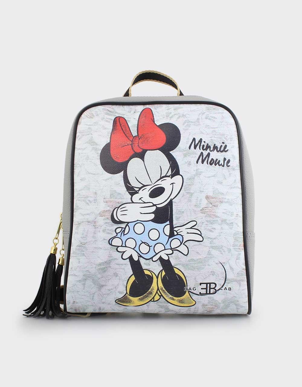 Εικόνα από Γυναικεία σακίδια πλάτης με Minnie mouse Γκρι