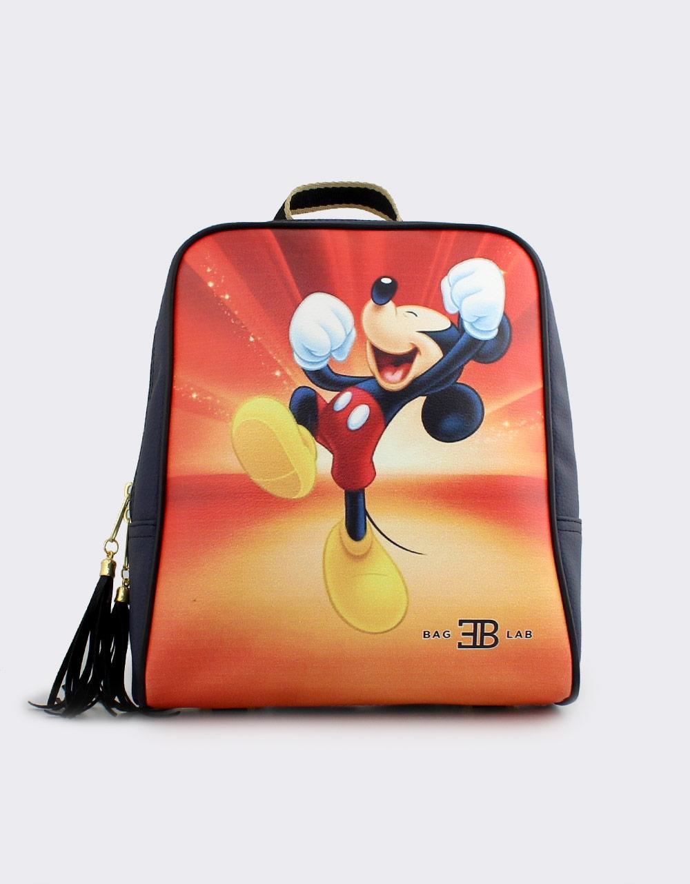 Εικόνα από Γυναικεία σακίδια πλάτης με τον Mickey mouse Navy
