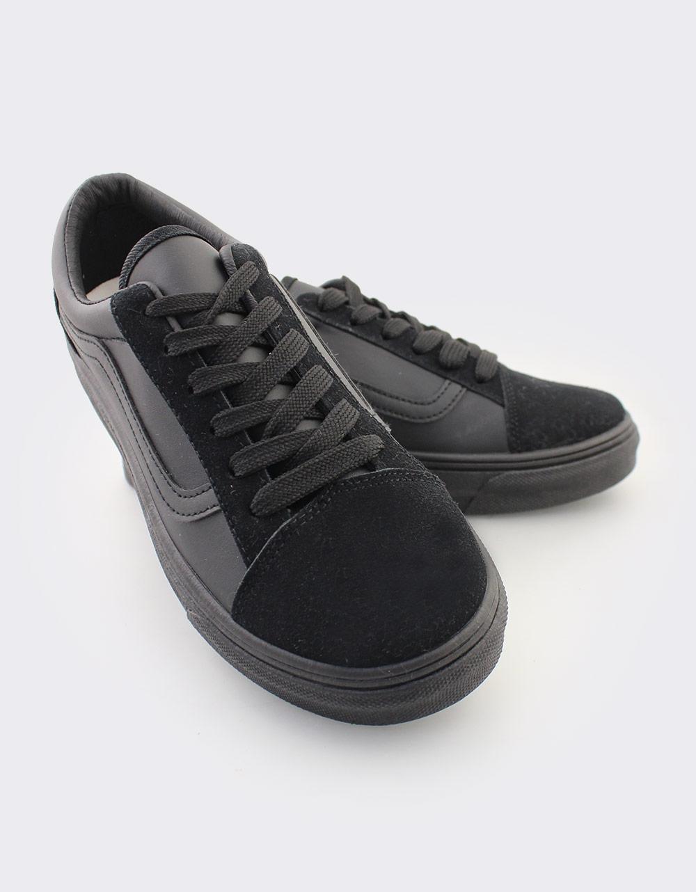 Εικόνα από Γυναικεία sneakers με λεπτομέρειες Μαύρο