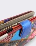 Εικόνα από Γυναικεία δερμάτινα πορτοφόλια multi colour Μπλε